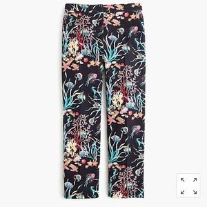 J Crew Under the Sea Patio Pant